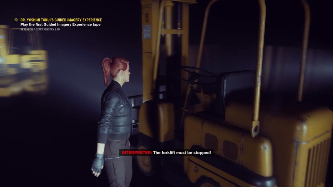 """在《控制》里你甚至可以""""听""""到小岛秀夫扮演科学家"""