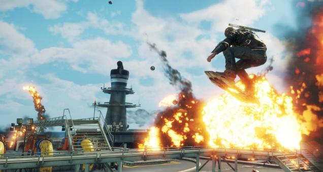 爆裂新武器载具追加 《正当防卫4》最新DLC第3弹上线