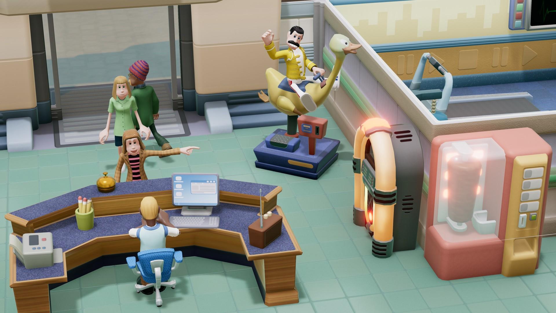 《双点医院》Steam周末免费试玩 特价促销只要79元
