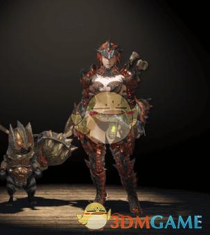 《怪物猎人:世界》性感雄火龙套装MOD