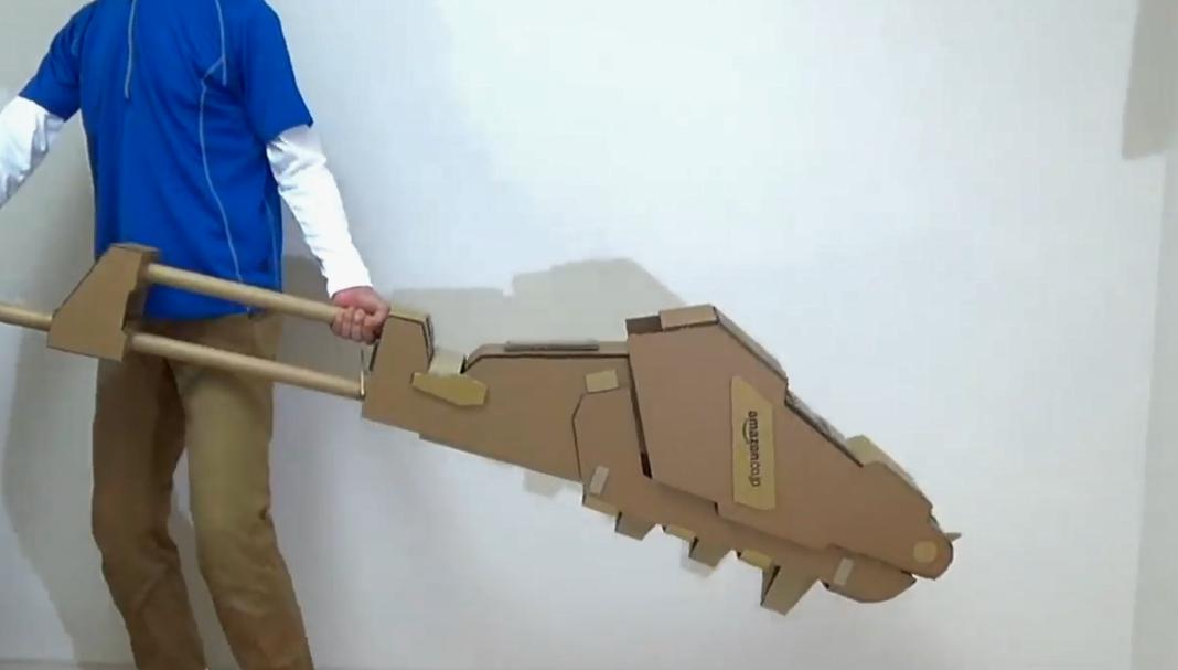 民间高玩再出手!自制纸壳版高达铁血武器酷炫可动