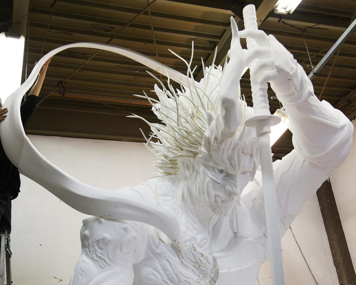 人魔合一杀戮在即!光荣新作 《仁王2》 巨大雕像开发版公开