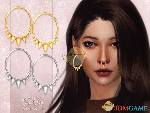 《模拟人生4》针刺圆环耳环MOD