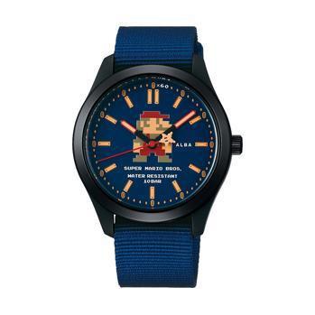 雅柏x马里奥联名款手表即将发售 戴着很有情调