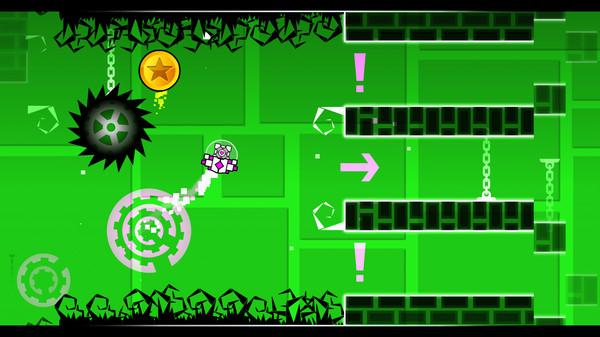极难动作游戏《几何冲刺》游戏特性介绍 玩家可自行编辑关卡