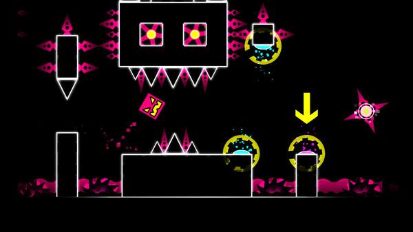 极难动作游戏《几何冲刺》游戏截图欣赏 多彩地狱世界