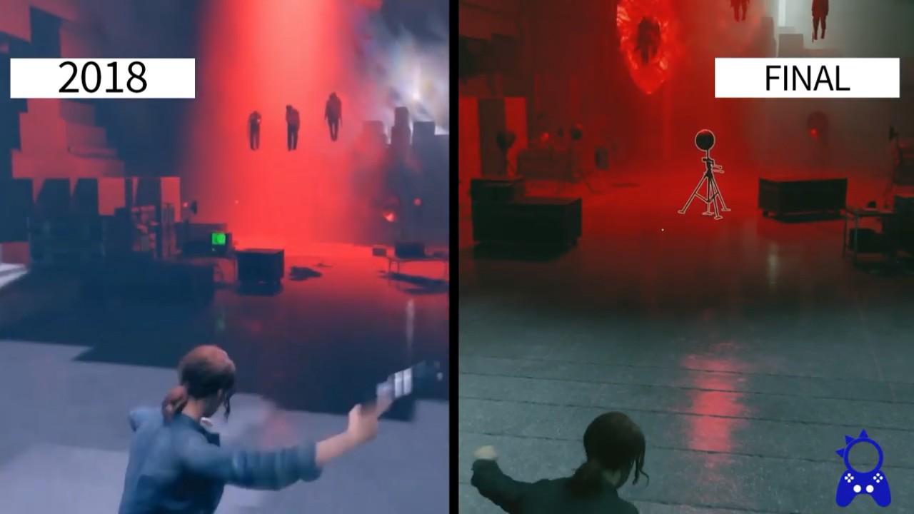 《控制》E3 2018与最终发售版对比 画面色调略有不同