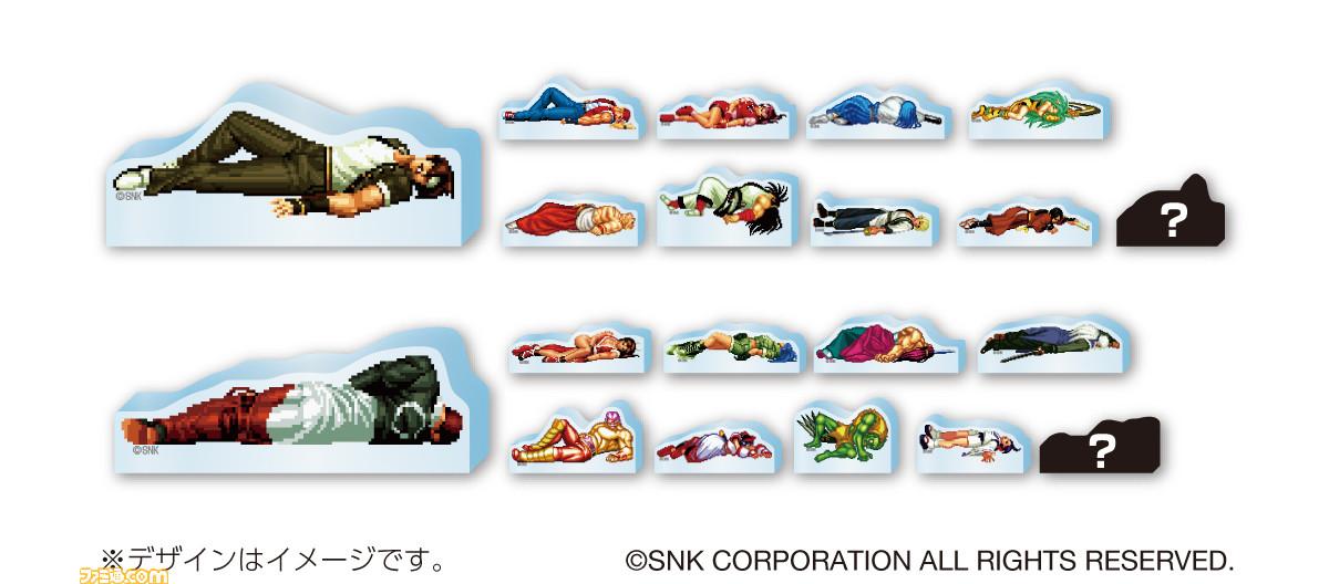 SNK公开TGS商品阵容 《拳皇》众人遭K.O惨状一览无余