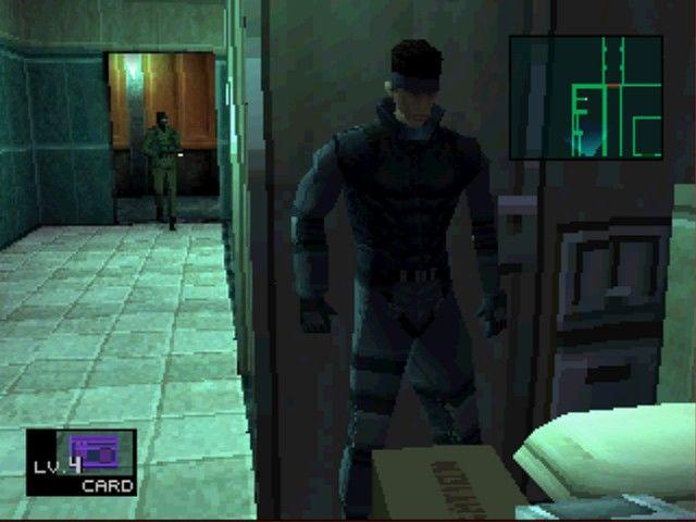游戏历史上的今天:《潜龙谍影》或者说《合金装备》发售