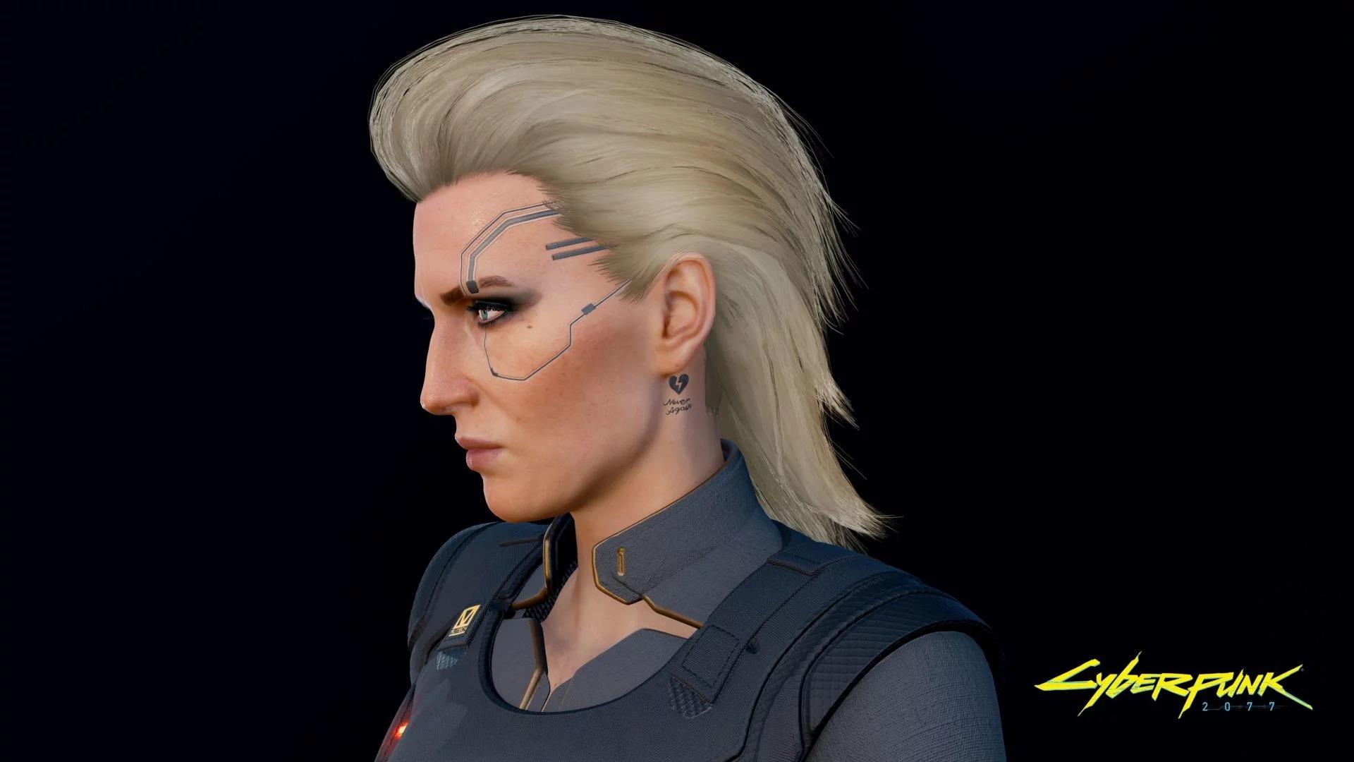 《赛博朋克2077》角色新截图 人物造型栩栩如生