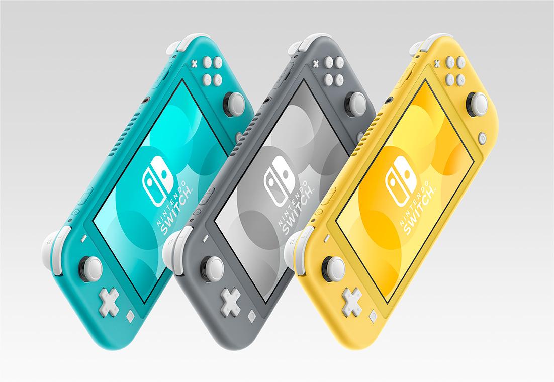 任天堂Switch Lite新宣传片 部分实机画面放出