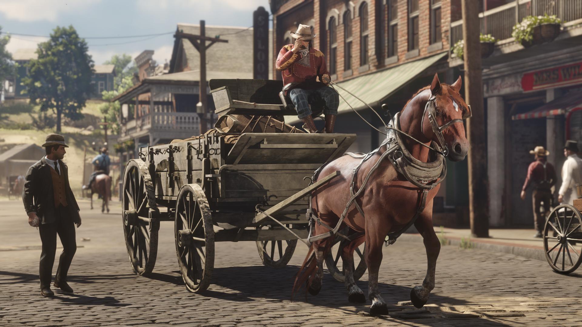 《荒野大镖客2》在线模式9月10日更新 新增3种边境职业