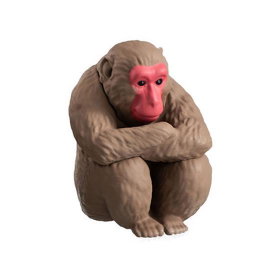 万代推出魔性动物形象扭蛋 呆萌表情和坐姿惹人发笑