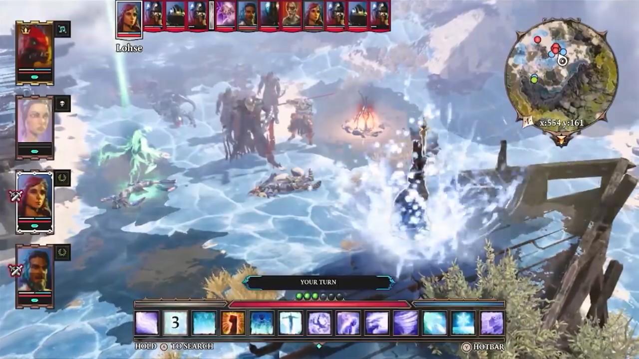 《神界:原罪2》终极版登陆Switch 支持Steam云存档互通