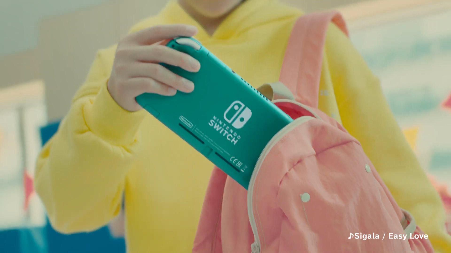 Switch Lite宣传片强调便携性 大量 《宝可梦:剑盾》 画面曝光