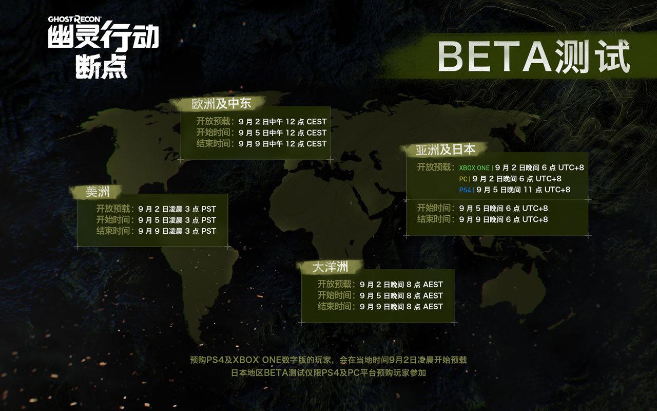 《幽灵行动:断点》Beta测试开启 首年更新内容公布