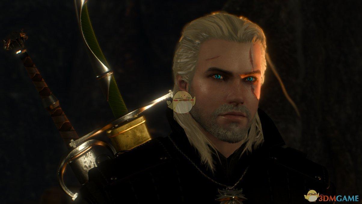 《巫师3:狂猎》杰洛特头发脸部优化MOD
