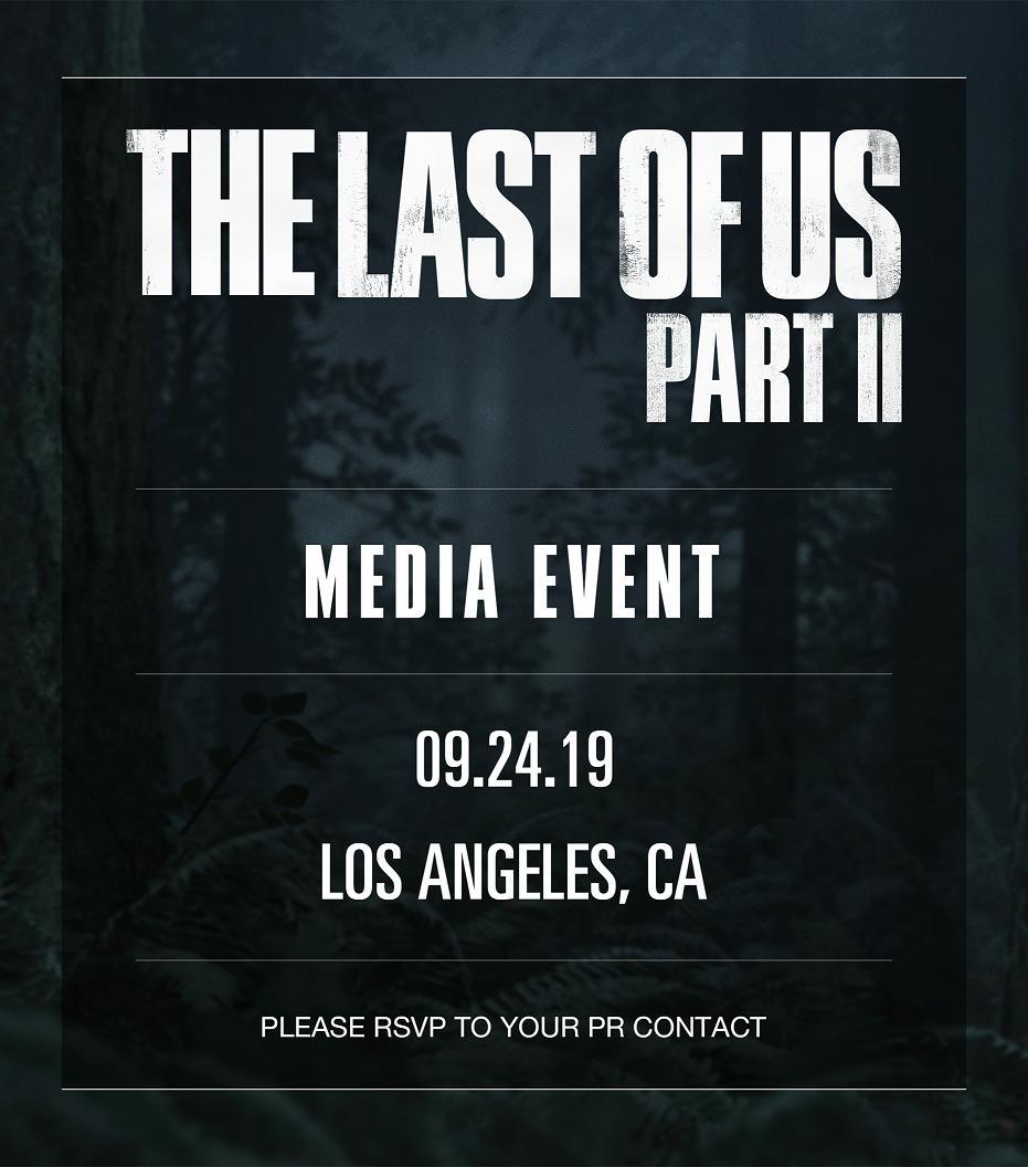 9月24日举行《最后的生还者2》媒体见面会 或许确定最终发售日
