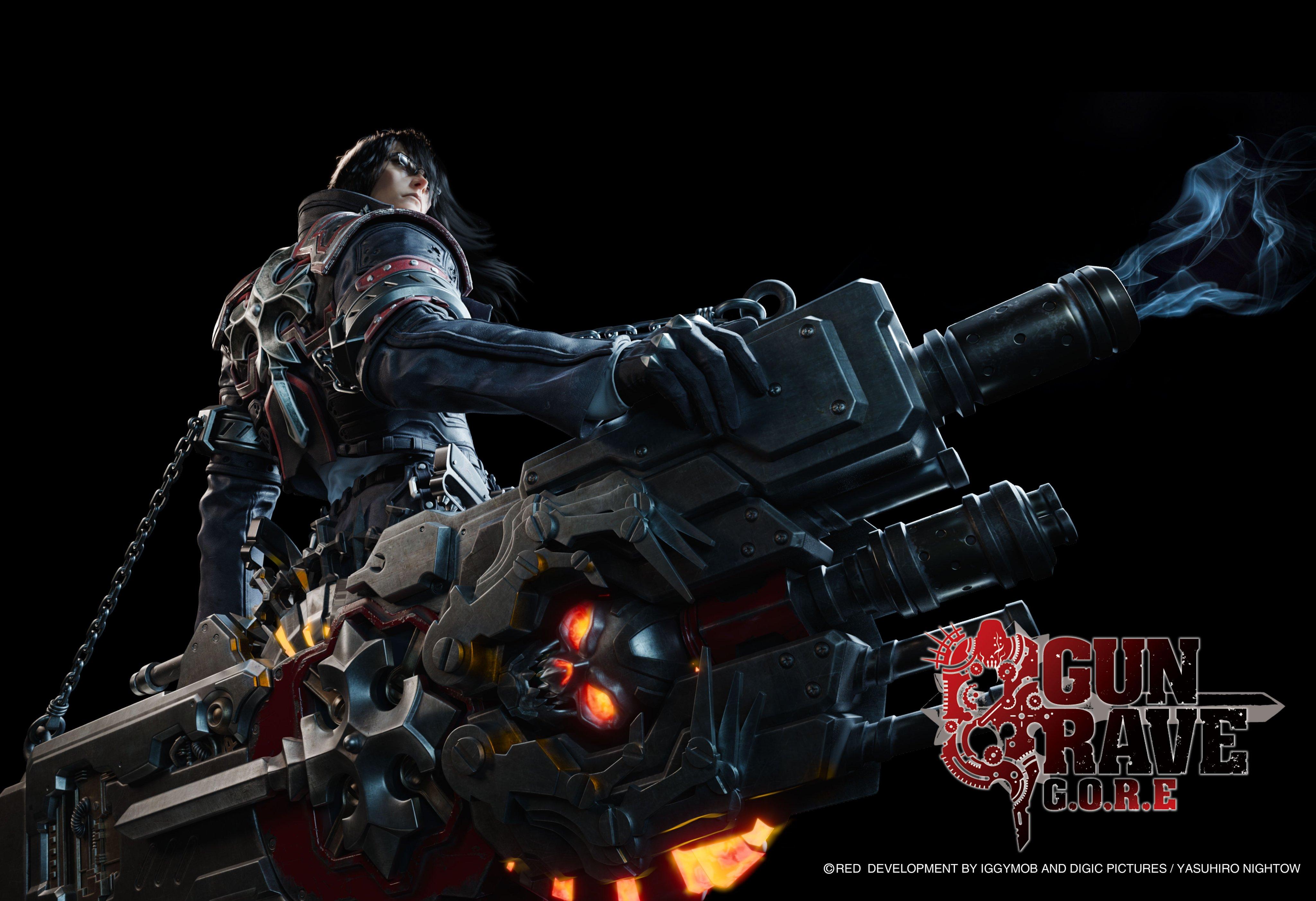 <b>手持超怪异武器!PS4新作《枪墓GORE》新角色酷男公布</b>