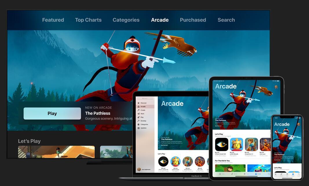 苹果街机服务19日上线 众多游戏开发商带来独占新作