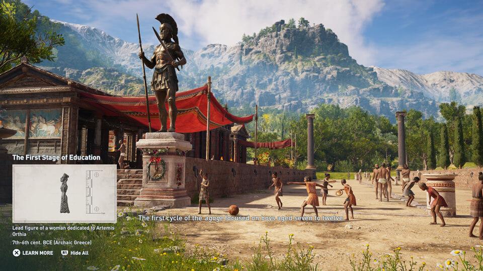 《刺客信条:奥德赛》探索模式预告 学历史看风景