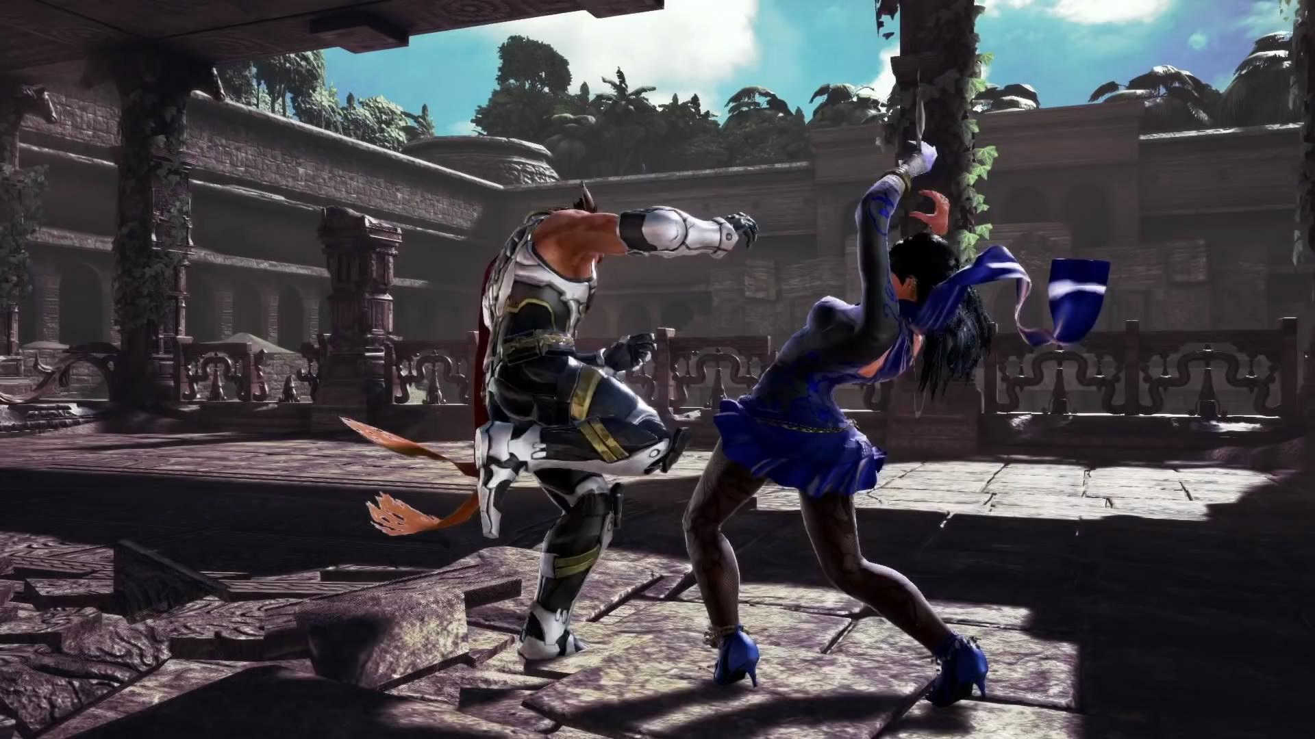 《铁拳7》新DLC角色扎菲娜宣传片 该角色已解锁