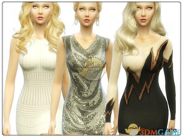 《模拟人生4》女士性感晚礼服MOD