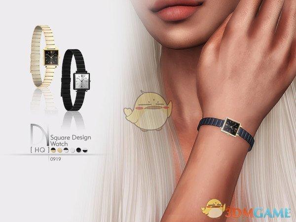 《模拟人生4》精致的正方形小手表MOD