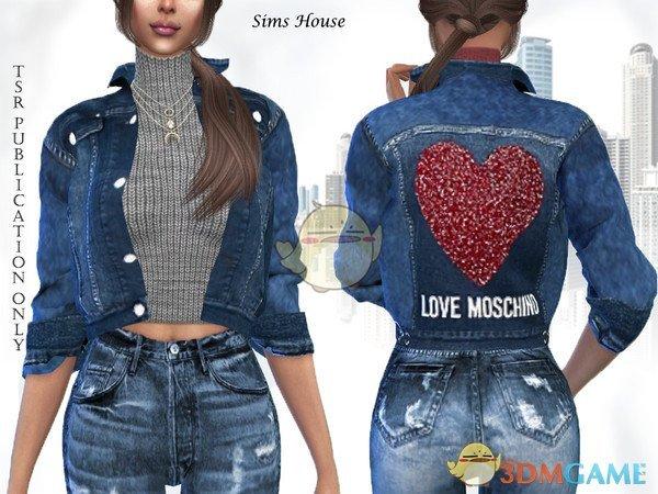 《模拟人生4》女性夹克毛衣MOD