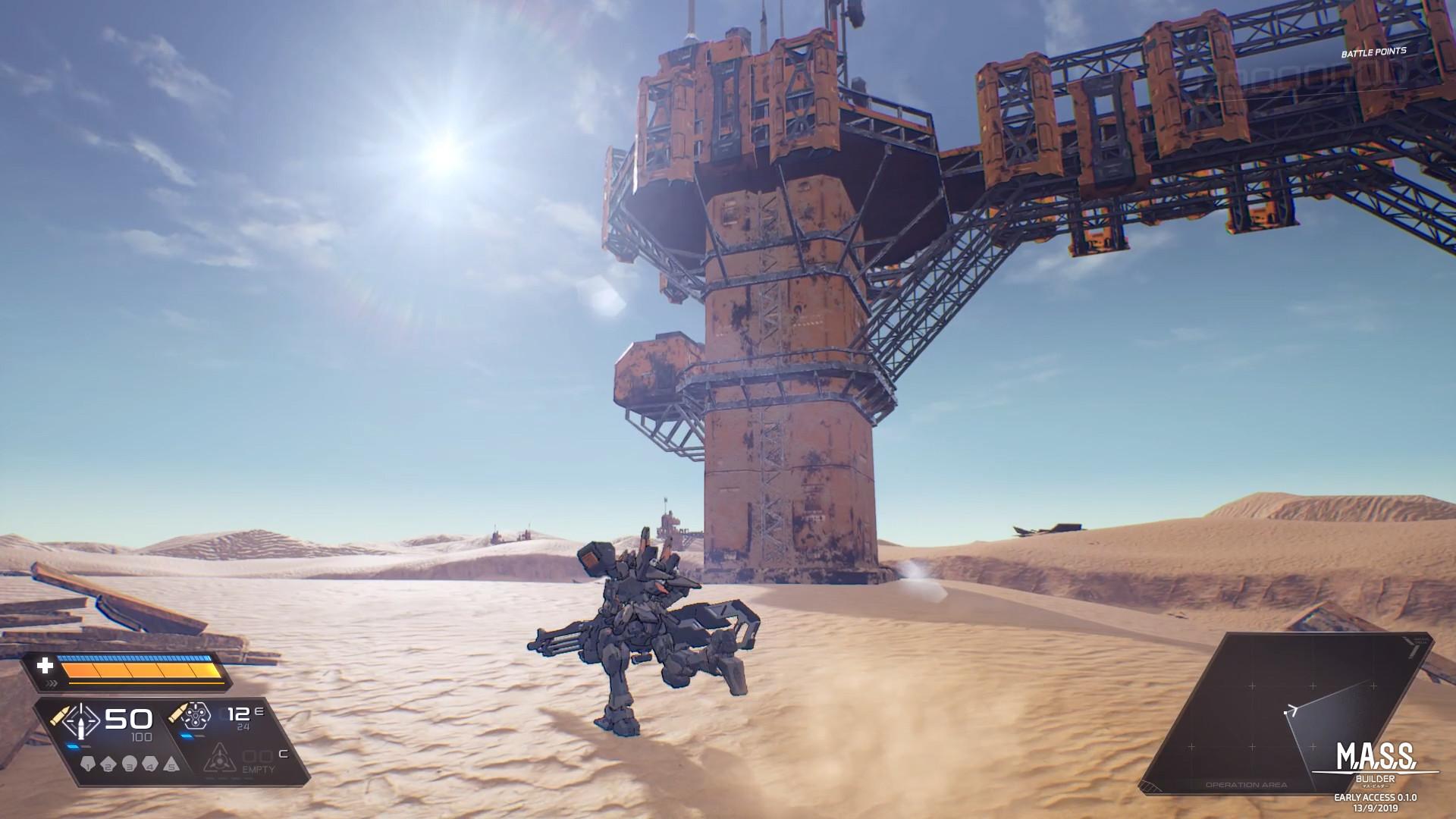 高达既视感强烈 泰国机甲游戏《M.A.S.S. Builder》EA版13日发行