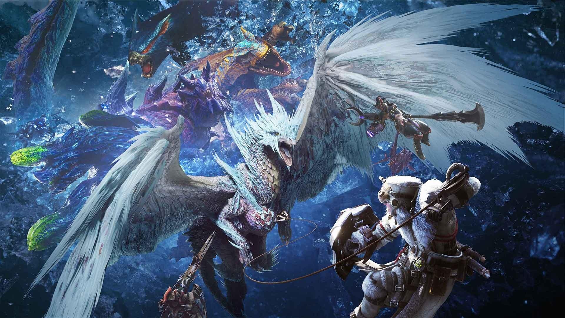 《怪物猎人:世界》冰原全斩斧图鉴
