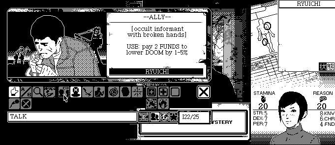 黑白像素裂口女? 点阵式RPG《恐怖的世界》Demo演示