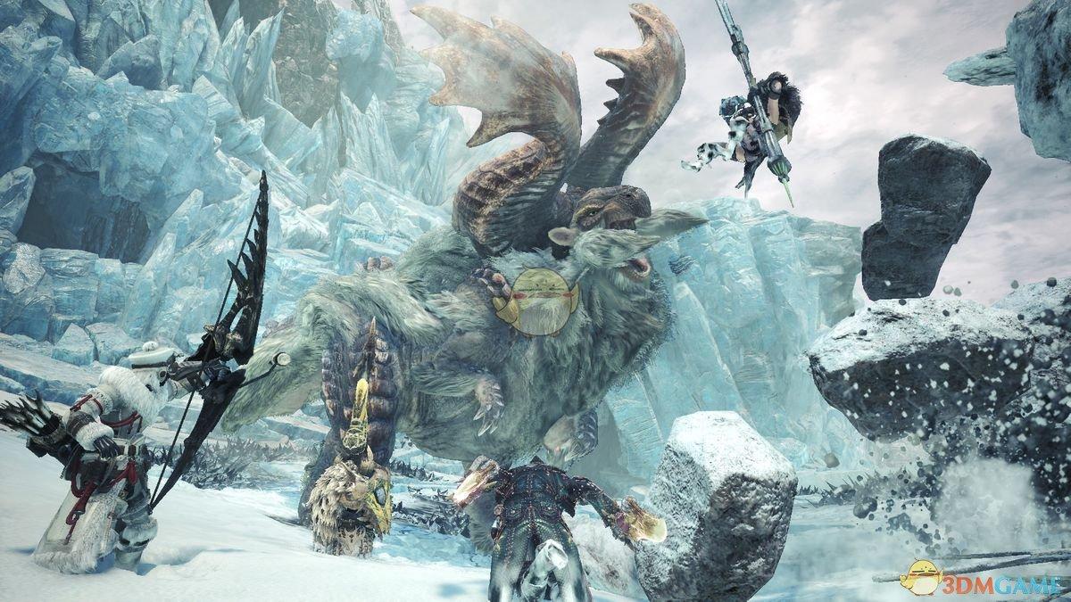 《怪物猎人:世界》冰原地图一览