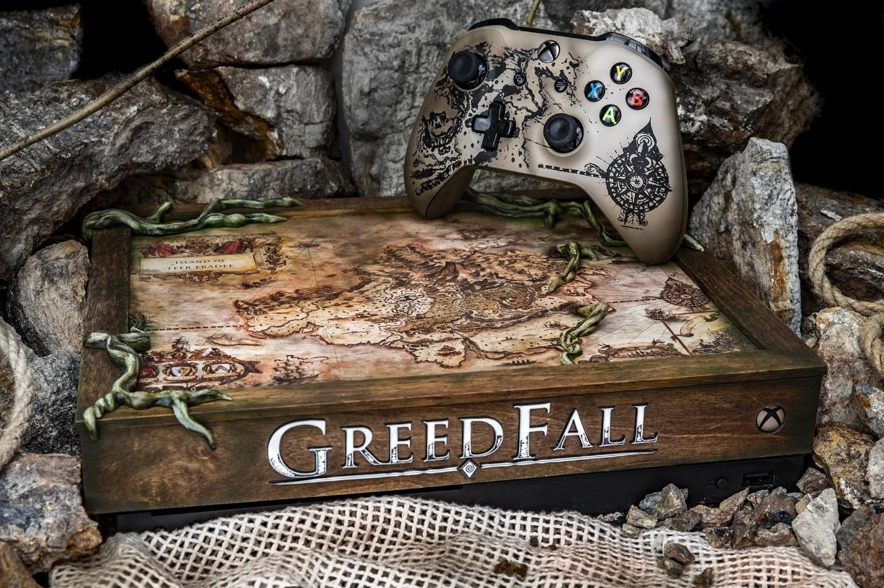 《贪婪之秋》官方晒主题限量XboxOne 大航海时代风格浓郁