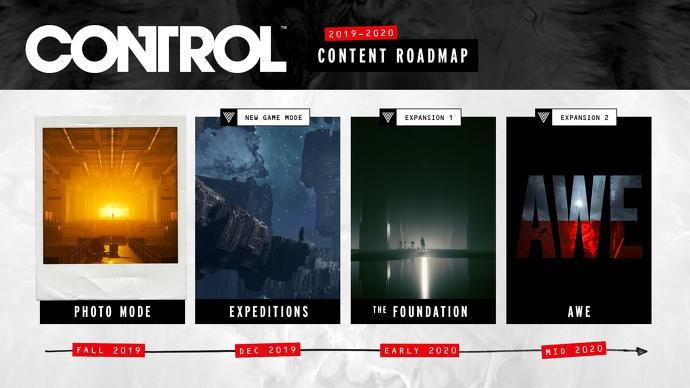 Remedy公布《控制》更新路线图 明年推出2款DLC