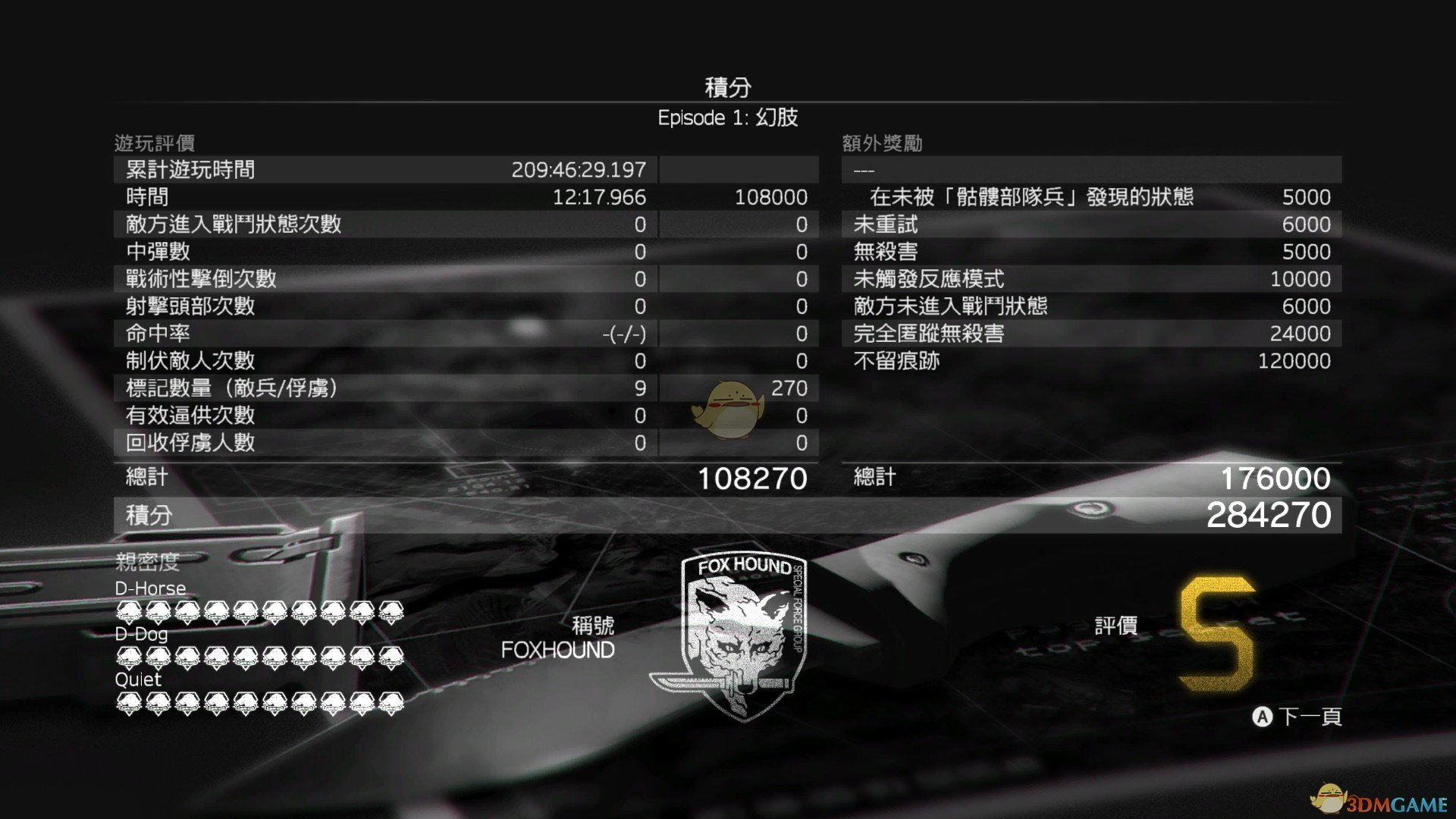 《合金装备5:幻痛》任务1幻肢S级评价攻略