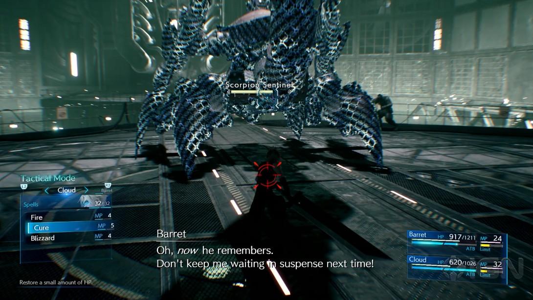 TGS:IGN《最终幻想7:重制版》15分钟演示 双人BOSS战帅爆
