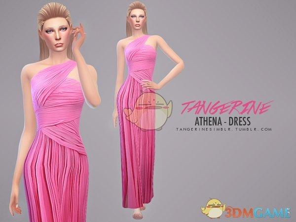 《模拟人生4》美丽的复古长裙MOD