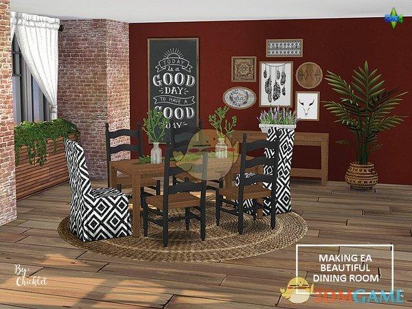 《模拟人生4》意式餐厅家具MOD