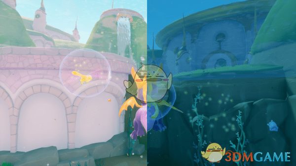 《斯派罗烈焰重燃三合一》纯净的水下颜色MOD