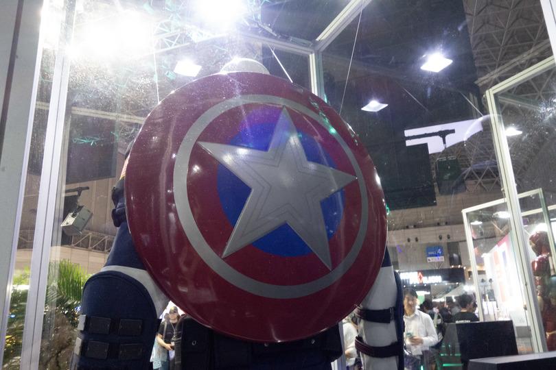 TGS:钢铁侠美队集结!《漫威复仇者联盟》驾临史艾展台掠影