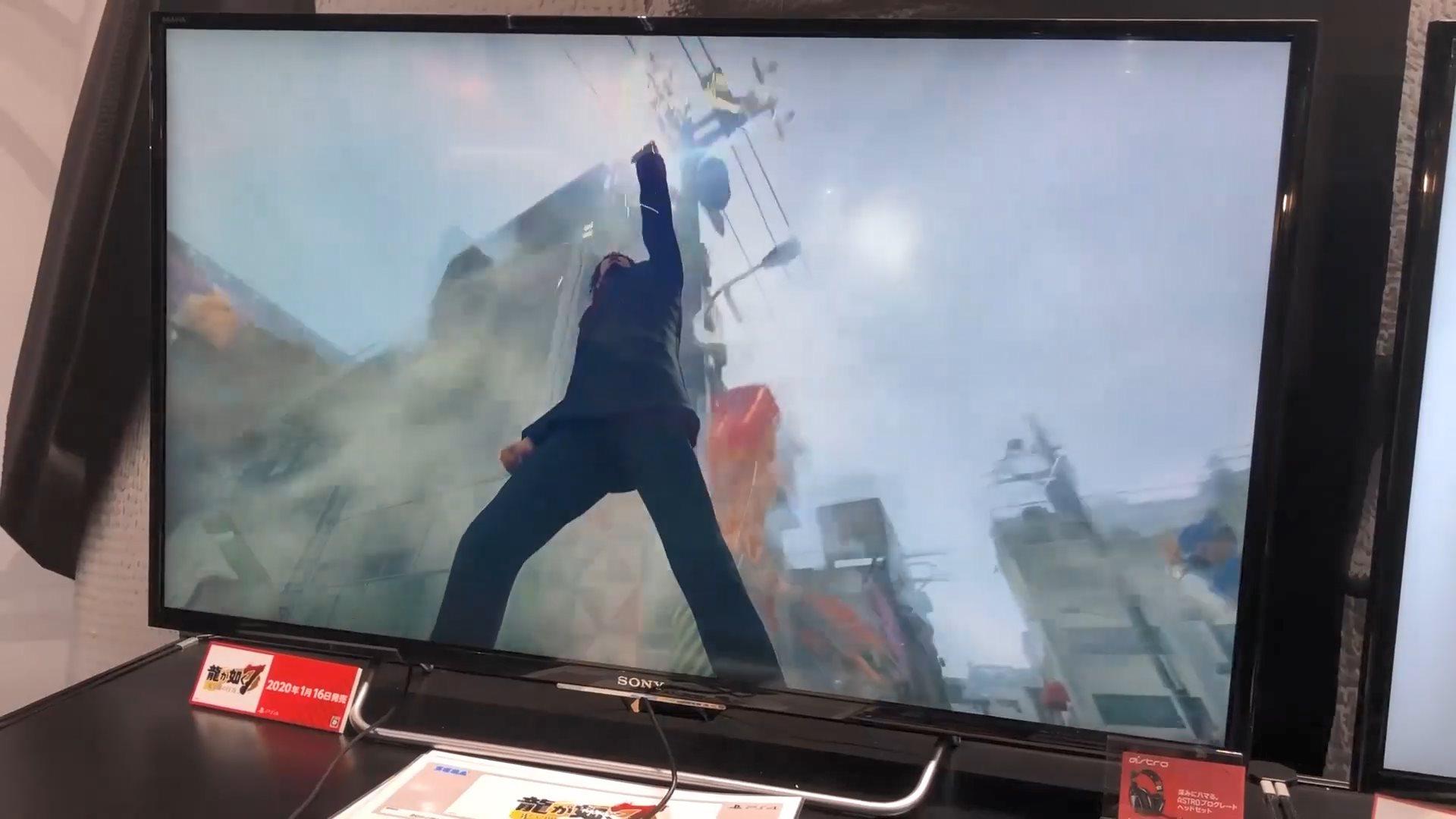 TGS:一棒在手天下我有 《如龙7》实机演示公开