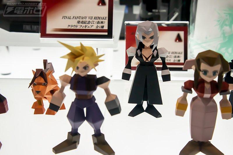 有棱有角的情怀 《最终幻想7》发布方块版角色手办