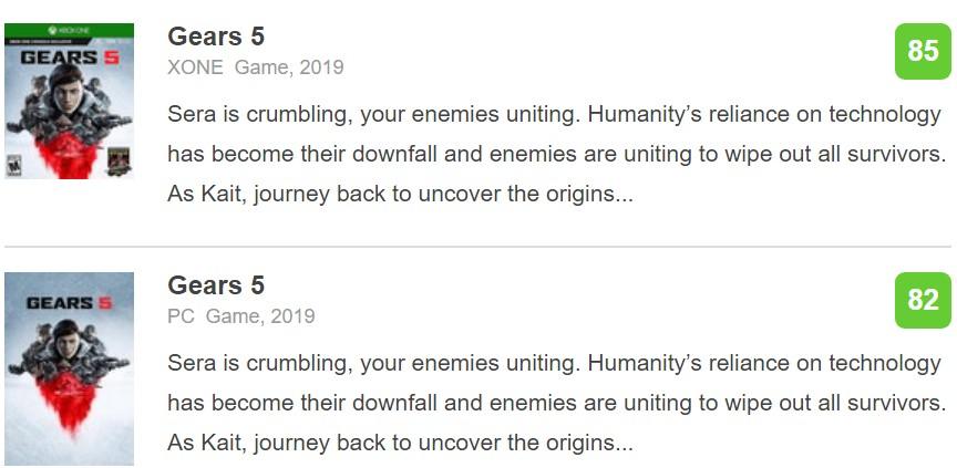 《战争机器5》IGN终评9分:记忆中最好且包罗万象的动作游戏