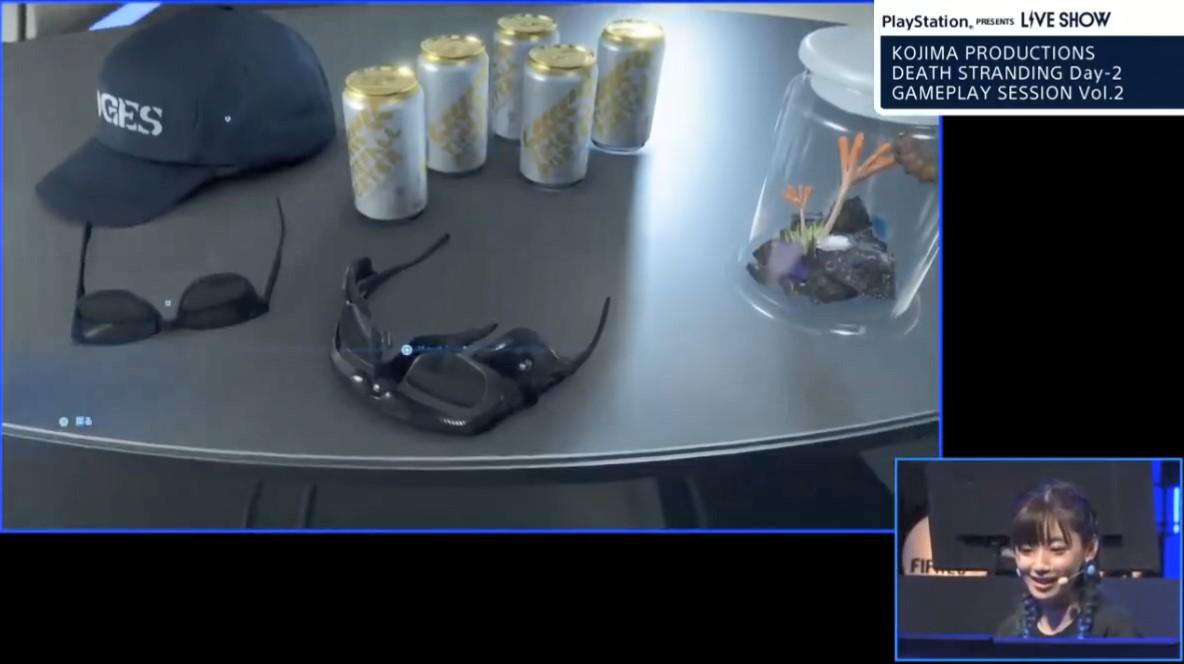 TGS:《死亡搁浅》第二弹演示 喝酒换装模拟器