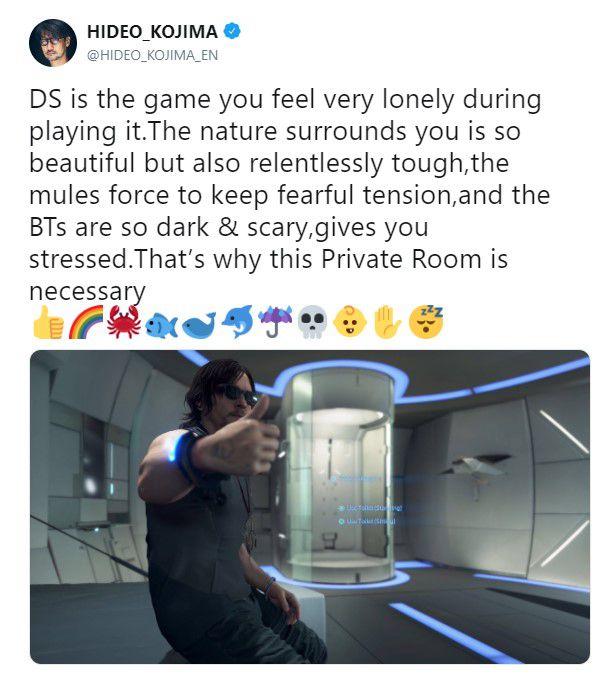 小島秀夫:《死亡擱淺》玩的時候會讓你感到非常孤單