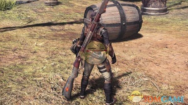 《怪物猎人:世界》军刀穿心步枪MOD