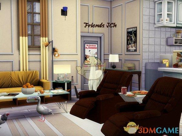 《模拟人生4》老友记家具MOD