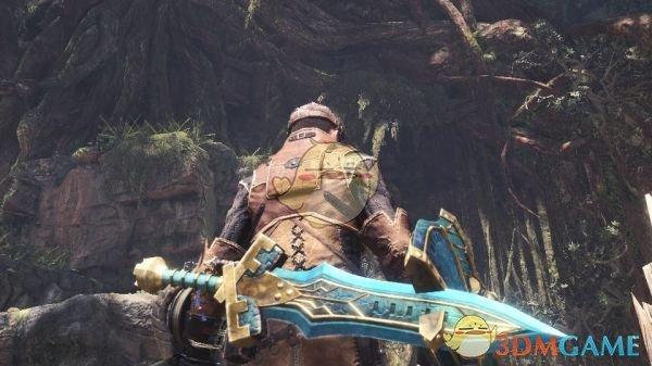 《怪物猎人:世界》炎妃龙斯巴达剑盾MOD