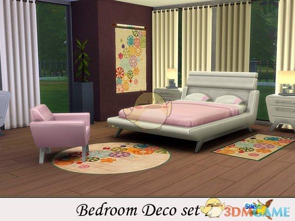 《模拟人生4》彩色壁画地毯MOD